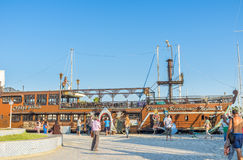 The wooden ship Stock Photography