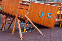 Wooden ship Royalty Free Stock Image