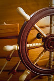 Wooden ship steering Royalty Free Stock Photo