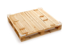 Wooden shipping pallet Stock Photography