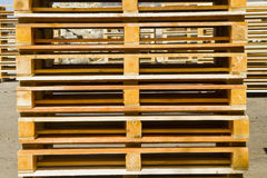 Wooden Shipping Pallets Stock Photos