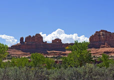 Wooden Shoe Arch, Canyonlands National Park Royalty Free Stock Photos