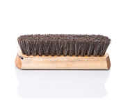 Wooden Shoe Shine Polish Brush I Stock Images