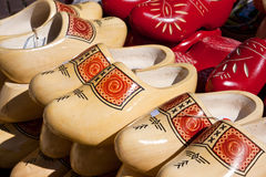 Wooden shoes Stock Photography