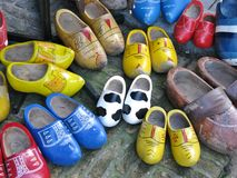 Wooden shoes Royalty Free Stock Photo