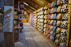 Wooden shoes exposition, Holland Stock Photo
