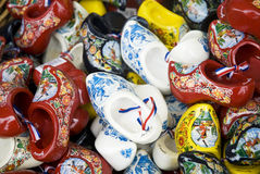Wooden shoes from Holland Stock Photos