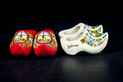 Wooden shoes Stock Image