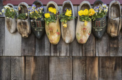 Wooden Shoes Royalty Free Stock Images