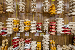 Wooden Shoes Royalty Free Stock Photos