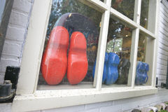 Wooden shoes Royalty Free Stock Photography