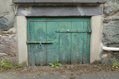 Short door hatch. Royalty Free Stock Photography