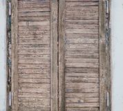Wooden shutter Stock Photo