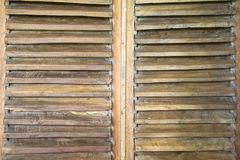 Wooden shutter Stock Photos