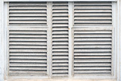 Wooden shuttered window Royalty Free Stock Image