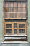 Wooden shuttered window Royalty Free Stock Photo