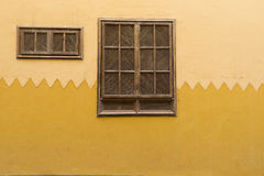 Wooden shuttered window Royalty Free Stock Photos