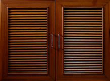 Wooden shutters Royalty Free Stock Image