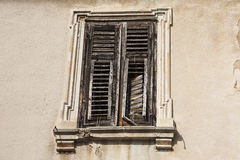 Wooden shutters. Royalty Free Stock Photo
