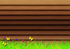 Wooden shutters. Stock Photography