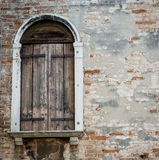 Wooden shutters Stock Photography