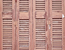 Wooden shutters pattern Royalty Free Stock Image