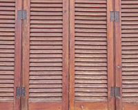 Wooden shutters pattern Stock Image