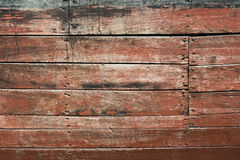 Wooden siding. Weathered wooden planks stock images