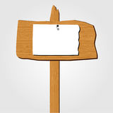 Wooden Sign Royalty Free Stock Image