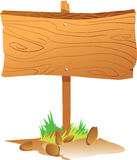Wooden Sign Board Stock Image