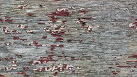 Wooden sign with deteriorated paint stock photo