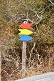 Trail Marker Stock Images