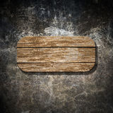 Wooden sign Royalty Free Stock Photography