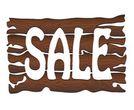 Wooden sign Sale Royalty Free Stock Photography