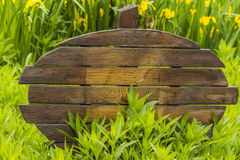 Wooden sign Stock Photography