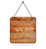 Wooden signboard. Stock Photography