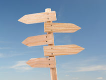 Free Wooden Signpost Stock Image - 2271751