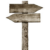 Wooden signpost Royalty Free Stock Photos