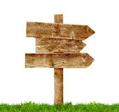 Wooden Signposts Royalty Free Stock Photo