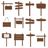 Wooden Signs Royalty Free Stock Image