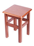 Wooden simple stool Stock Photography