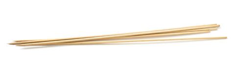 Wooden Skewers Royalty Free Stock Photo