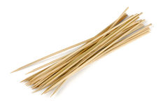 Wooden skewers Stock Images