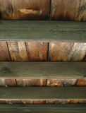 Wooden Slat Ceiling Stock Image