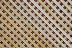 Wooden slat roof Royalty Free Stock Photography