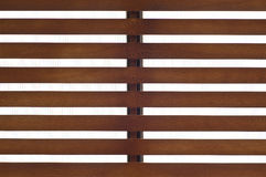 Wooden slat roof. Royalty Free Stock Photos