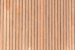 Wooden Slate Deck Decor. Wood slate deck section outside decor Royalty Free Stock Photo