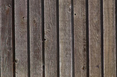Wooden Slats. Weathered wooden slats on an old barn Stock Photo