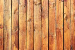 Wooden slats Stock Image