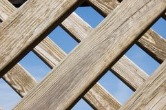 Wooden slats Royalty Free Stock Photo
